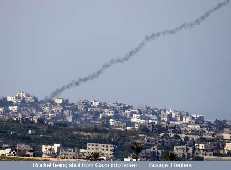 Rockets from Gaza copy
